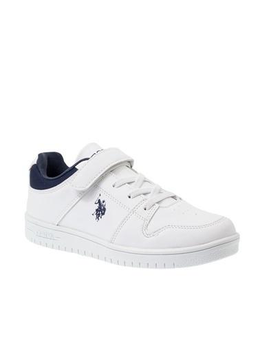 U.S. Polo Assn. Us. Polo Assn. Douglas Çocuk Ayakkabı 100489474 100489474015 Beyaz